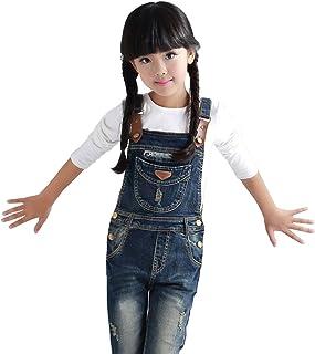 [FERE8890] 子供 キッズ サロペット ズボンつり オーバーオール サスペンダーズボン ズボン オールインワン フィットスタイル 金属ボタン