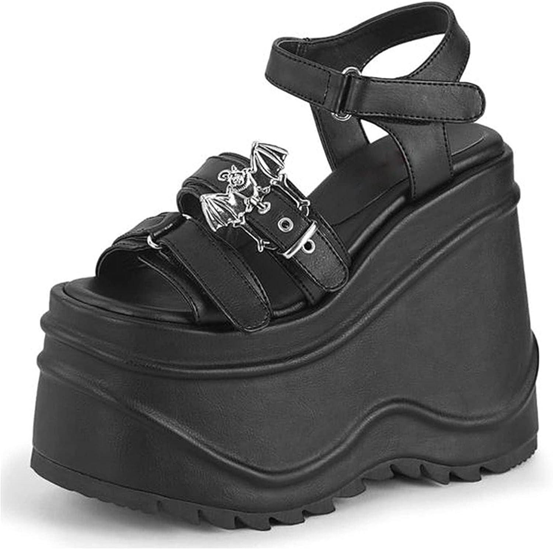 Super Special Limited time sale SALE held Erocalli Platform Sandals for Women Wedges Op High Heeld