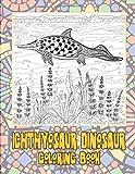 Ichthyosaur dinosaur - Coloring Book