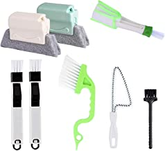 8 Pcs Hand-held Groove Gap Cleaning Tools,Door Window Track Cleaning Tools Groove Corner Crevice Cleaning Brushes for Slid...