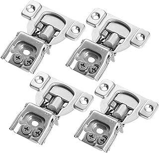 Cabinet Hinge, Hinge Concealed Soft-Close Face Frame Furniture Kitchen or Bathroom Cabinet Inset Hardware,4 Pack