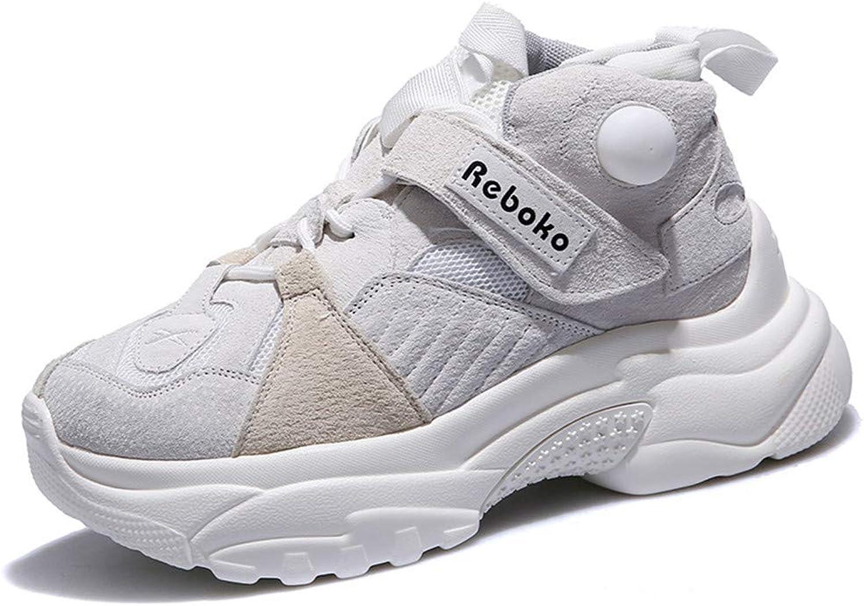 Nynorrstar Nynorrstar Nynorrstar Kvinnors skor med tjocka sulor och högklassiga modeskor Kvinnor med tillfälliga skor av vita skor  begränsad utgåva