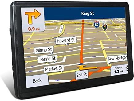 GPS Navigation for Car, 7 Inches 8GB Capacitive Touchscreen, Voice Transfer Route Navigation Features