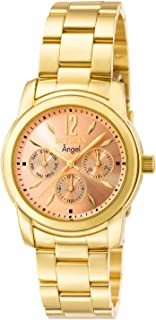 Invicta Women's 0464 Angel Collection 18k Gold-Plated Stainless Steel Watch