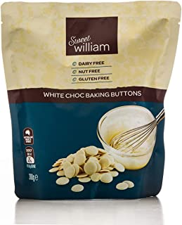 Sweet William White Chocolate Baking Buttons 300 g