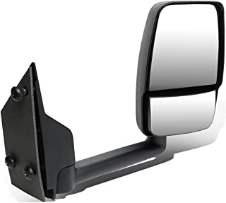 DNA MOTORING MR-OEM-008-R Right/Passenger Manual Side View Mirror [for 03-18 Chevy Express/GMC Savana]