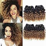 Best Hair Weaves - Brazilian Kinky Curly 1b 30# Hair, 8 inches Review