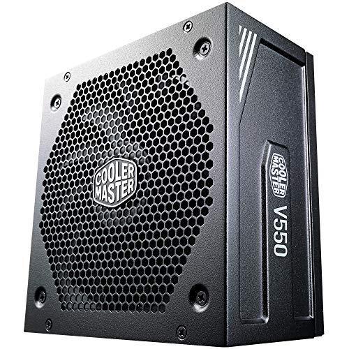 Cooler Master V550 Gold V2 PSU, UK Plug - 550W, 80 PLUS Gold, Fully Modular, ATX Power Supply Unit,...