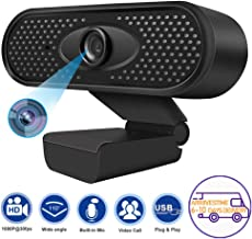 1080P HDDesktop Laptop Webcam with Microphone ,USB Camera for Video Calling Conference/Online Teaching/Business Meeting