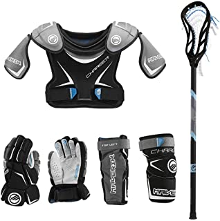 Lacrosse Unlimited Maverik Charger EKG Youth Starter Set 4-Piece - No Helmet