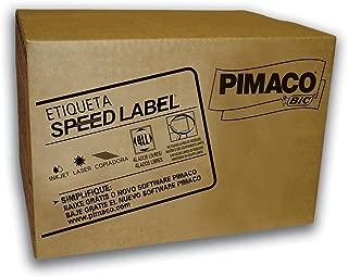 Etiqueta adesiva pimaco (carta) ink jet/laser 33,9mmx101,6mm sl61082, caixa com 14.000 etiquetas