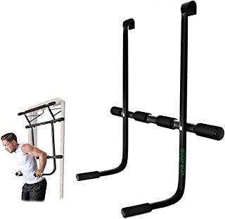 Bodyrox BDRX Doorway Dip Station, Pull Up Bar Attachment Accessory   Home Fitness Door Gym Universal Pull Up Bar ADD-ON Pi...