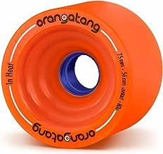 Best orangatang in heat orange wheels 75mm Reviews