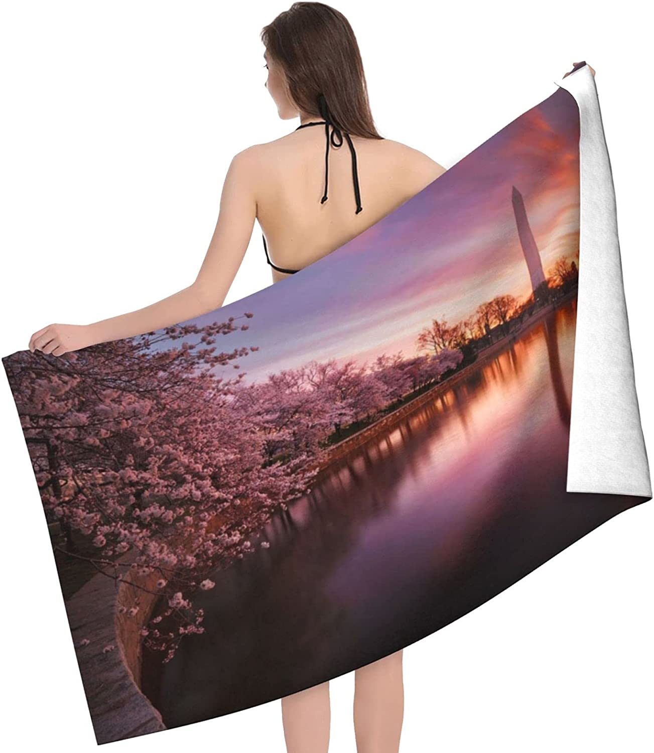 Cherry Blossom Print Adult Beach Towels Discount is also underway - Towel Alternative dealer Sid Double
