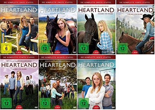 Heartland - Paradies für Pferde - Staffel/Season 1+2+3+4+5+6+7 * DVD Set