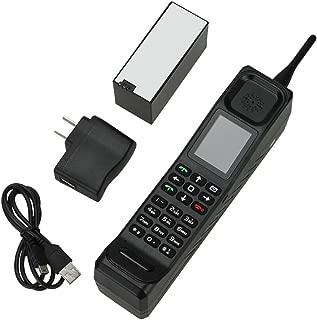 Higoo(tm) New Classic Old Vintage Retro Brick Cell Phone Mobile Phone Tri-band Dual SIM Dual Standby GSM900/1800/1900MHz Black