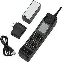 Higoo New Classic Old Vintage Retro Brick Cell Phone Mobile Phone Tri-Band Dual SIM Dual Standby GSM900/1800/1900MHz Black