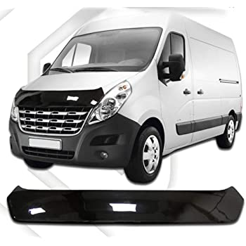 Window Visors Dark compatible with Renault Master 2003-2010