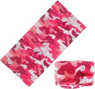 LEFV Trade; 16-in-1 Headband Camouflage Design Versatile Magic Scarf Bandana Tube Headwear Seamless Neck Gaiter Balaclava ...