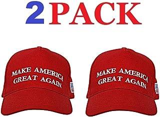 2c8d31669 Make America Great Again Hat [2 Pack], Donald Trump USA MAGA Cap Adjustable