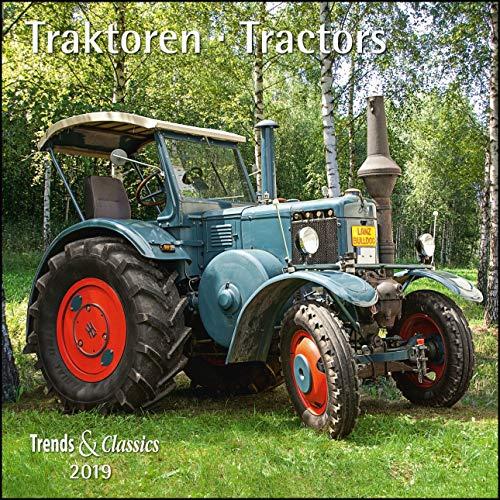 Traktoren Tractors 2019 - Broschürenkalender - Wandkalender - mit herausnehmbarem Poster - Format 30 x 30 cm