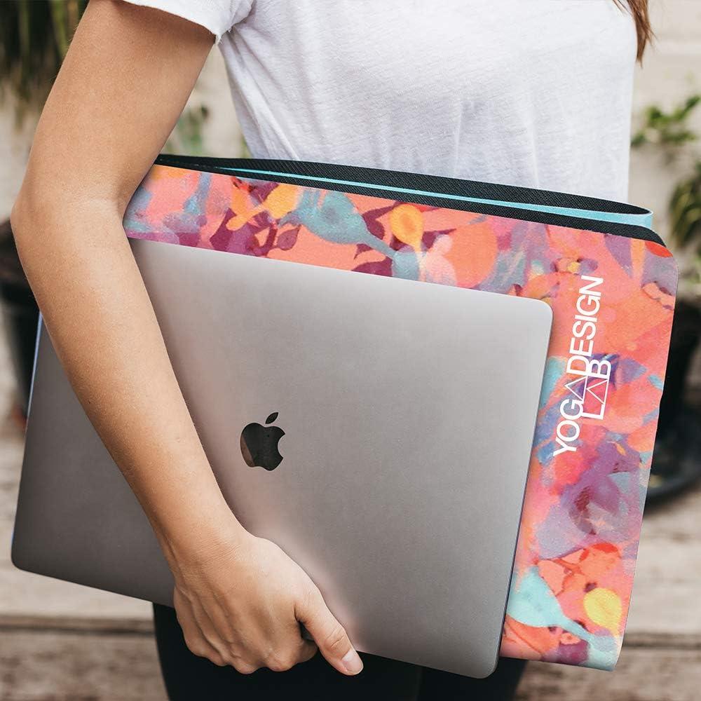 Yoga Design Lab Tapis de Yoga Travel Mat 1.5mm Antid/érapant Adh/ère Mieux avec la Sueur Sangle Incluse /Écologique