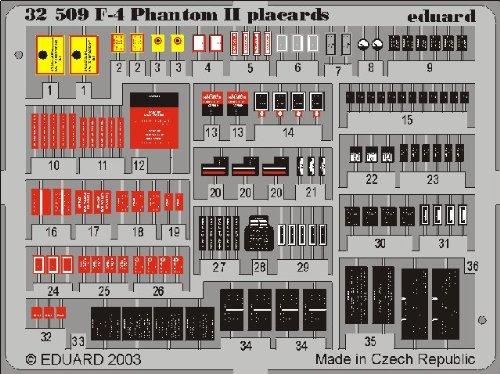 Eduard Accessories 32509 Modélisme Accessoires F 4 Phantom II placards