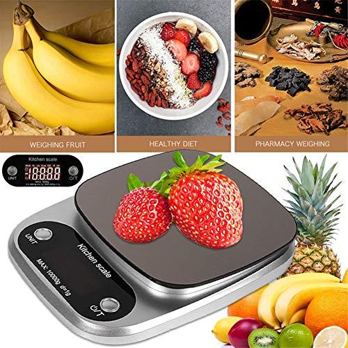 Voedsel Service Keuken Schaal Mini Schaal Digitale Schaal RVS Praktische Draagbare Keuken Schaal voor Voedsel Berekening Schaal Industrie