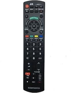 Vinabty vervangende afstandsbediening N2QAYB000328 geschikt voor Panasonic TXL26X10E TX-L26X10E TXL19C20EW TXL19X10B TX-L1...
