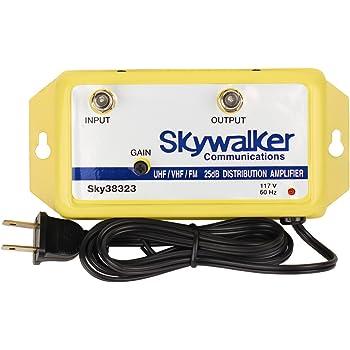Skywalker Signature Series SKY38323 25dB Amplifier VHF/UHF/FM w/variable gain (SKY38323)