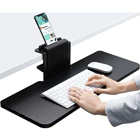 Amazon Com 3m Easy Adjust Sit Stand Keyboard Tray With Adjustable Platform 23 Inch Track Antimicrobial Gel Wrist Rests Akt180le Office Keyboard Platforms Office Products