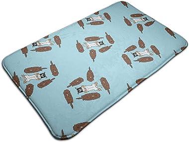 Minnie Swimming with Otters_368 Personalized Custom Doormats Indoor/Outdoor Doormat Door Mats Non Slip Rubber Kitchen Rugs 23