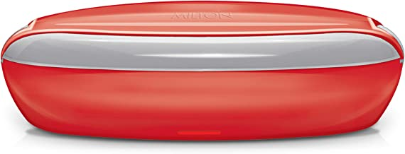 Milton Swiftron Stainless Steel Tiffin Box Set, 260ml/262mm, Set of 2, Red