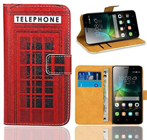Huawei G Play Mini/Honor 4C Handy Tasche, FoneExpert® Wallet Hülle Flip Cover Hüllen Etui Ledertasche Lederhülle Premium Schutzhülle für Huawei G Play Mini/Honor 4C (Pattern 12)