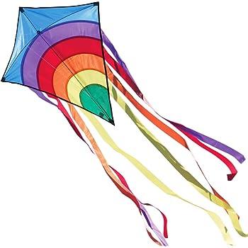 Drachen Regenbogen Einleiner Flugdrachen Winddrachen Kinderdrachen Flying Kite