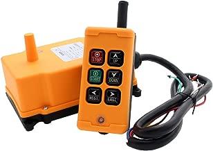 creatorele 6 Key Crane Industrial Remote Control Wireless Transmitter Push Button Switch (AC/DC 12-24V)