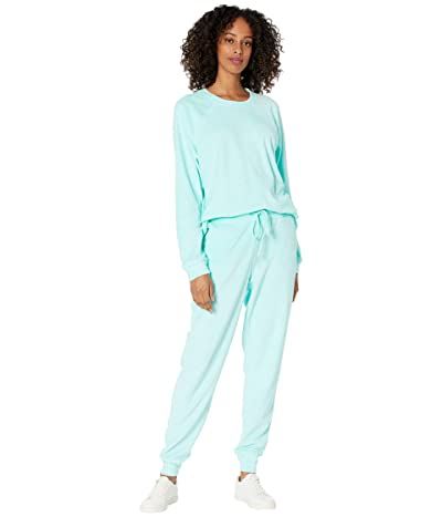 Show Me Your Mumu Chillin Set (Aqua Terry) Women