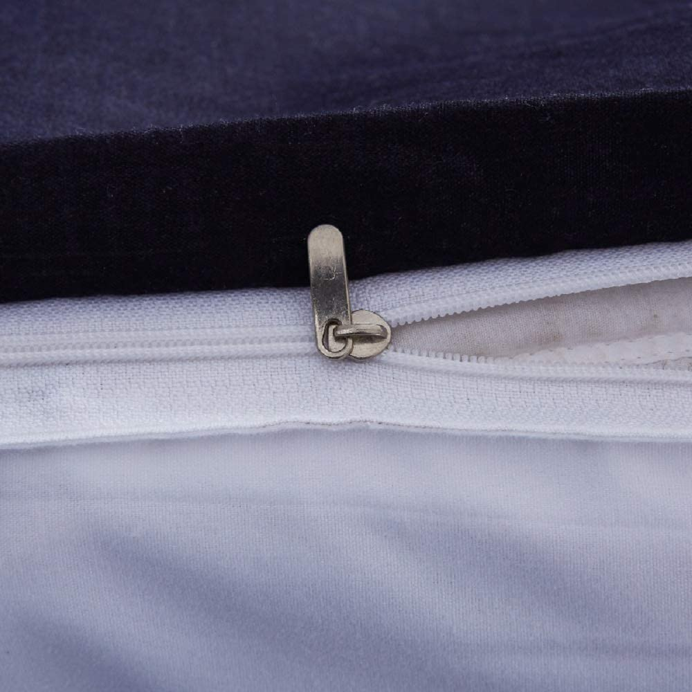 Erosebridal White Pinch Pleated Duvet Cover Set Twin Size Silk Like Satin Pintuck Bedding Set with Zipper Ruffle Design Luxury /& Microfiber Comforter Cover Pintuck Decorative Bedspread Cover
