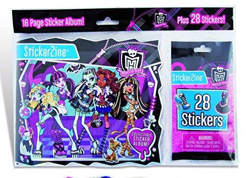 Monster High - 64009 - Loisir Créatif - Stickers + album (1407)