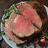 Prime Rib Roast Perfect centerpiece of a truly special meal. Aged up to 28 days, boneless and tender. Easy to prepare, comes with cooking instructions. Each roast serves 8-10.