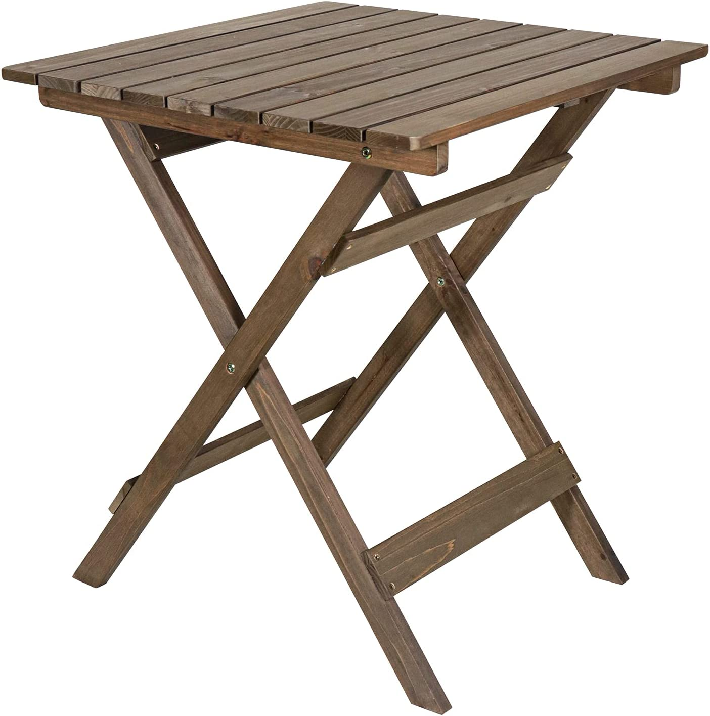 WELNOW Outdoor Foldable Folding Table Bistro New product type Patio 23.6