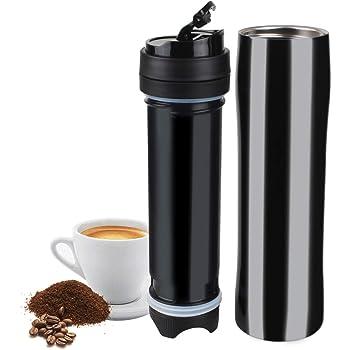 Gourmia Portable K Cup Black & Purple Press