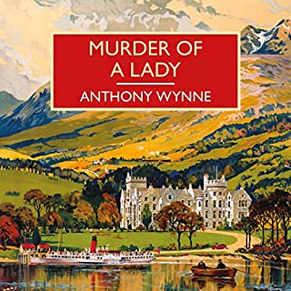 Murder of a Lady audiobook cover art