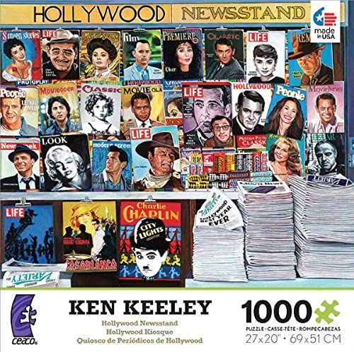 venta Ken Keeley  Hollywood Newsstand - 1000 Piece Piece Piece Jigsaw Puzzle by Ceaco  punto de venta