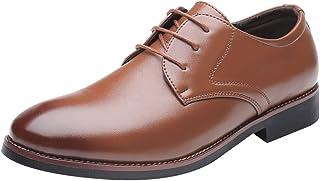 [MyMei] 靴 シューズ 革靴 ビジネスシューズ 紳士靴 メンズ 父へのプレゼント 通勤 ビジネス用 撥水 滑り止め 耐久性
