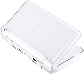 Transparent Hard Shell Case Cover Compatible with Nintendo DS Lite NDSL, Protective NDS Lite Crystal Clear Housing Case