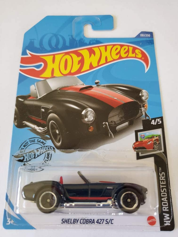Hot Wheels 2020 HW Roadsters 55% OFF Shelby Bombing free shipping Cobra 250 191 Black C 427 S