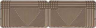 WeatherTech All-Weather Trim to Fit Rear Rubber Mats (Tan)