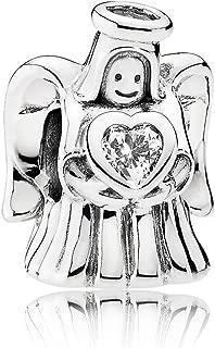 Pandora Women Silver Bead Charm - 792010CZ