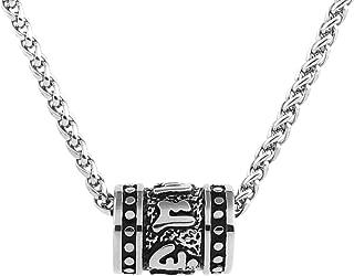 Tibetan Zen Buddhist Meditation Yoga Bohemian Stainless Steel Jewelry Pendant Necklace